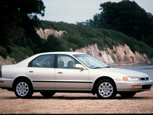 Honda Accords Were Stolen More Often Than Any Other Vehicle Last Year And The 1996 Version Like This One Taken Most Photo HONDA