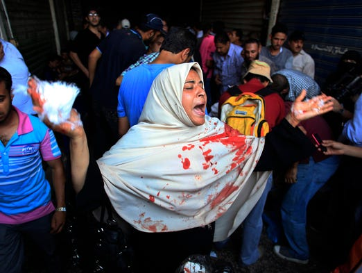 Friday protests in Egypt cause over 60 more deaths