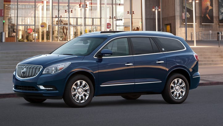 Consumer Reports cited the 2016 Buick Enclave as having