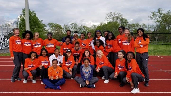 Blackman girls track team wins first county championship; Riverdale boys take title
