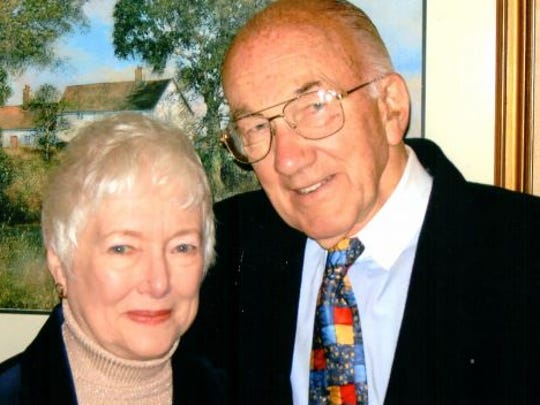 Donald and June Goerke met at Carroll College in Waukesha,