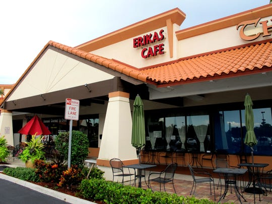 Erika's Cafe served countless meals during its nearly 17-year run in Green Tree Center on the southwest corner of Airport-Pulling and Immokalee roads in North Naples.
