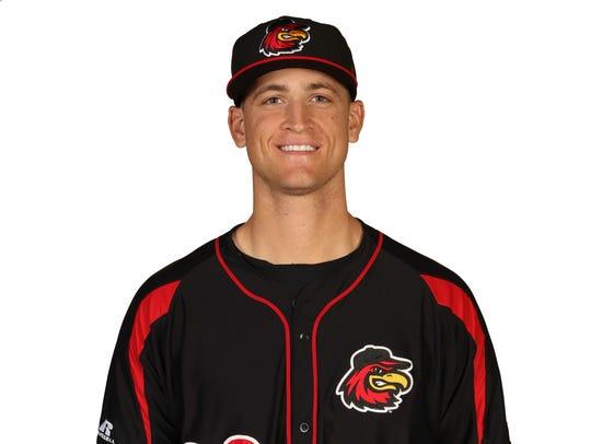Aaron Slegers, Red Wings pitcher