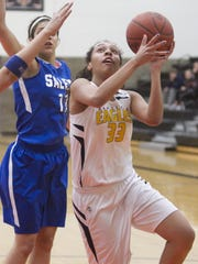 Junior Graysen Cockerham, one of the state's best free throw shooters, returns for her third season as a starter at Hartland.