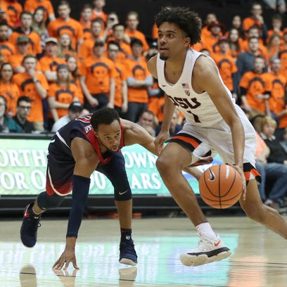 No. 14 Arizona defeats Oregon State in overtime, 75-65
