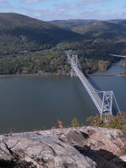 A hike on the Appalachian and Camp Smith trails will