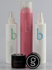 BennieFactor and Gage for Men haircare products created by local salon owner Bennie Pollard.