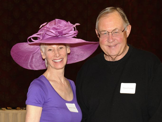 Marilyn and Darrel Craig attend the Reno Chamber Orchestra's 27th annual Derby Day Saturday May 2, 2014 at the Peppermill.
