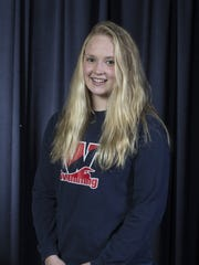 2018 All-Shore Girls Swim team. Grace Kayal of Wall.