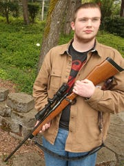 South Kitsap senior Robert Smallwood will take part in a gun rights rally in Olympia on Saturday.