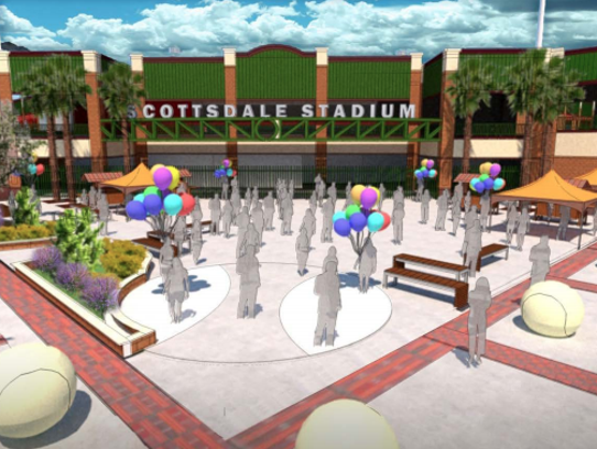 Upgrades for Scottsdale Stadium includes the expansion