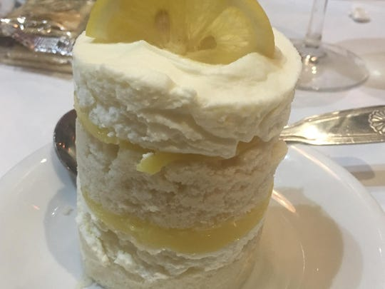 The Limoncello Mascarpone cake at Proud Mary in downtown Shreveport.