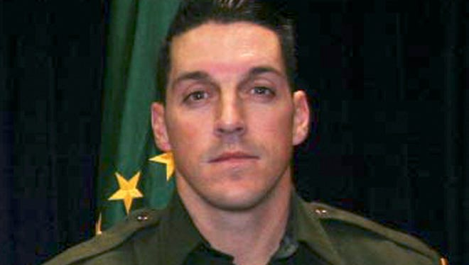 This undated photo provided by U.S. Customs and Border Protection shows U.S. Border Patrol agent Brian A. Terry. 1