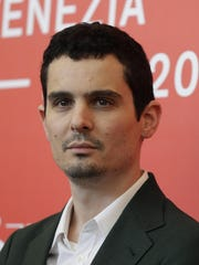 Director Damien Chazelle at the Venice Film Festival