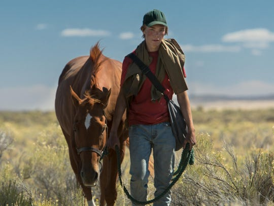 "Charlie Plummer stars in ""Lean on Pete."""