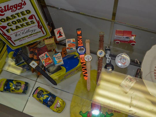 The Regional History Museum Battle Creek's cereal exhibit will run until around September 2018. It features memorabilia and history from and about the presence of various cereal companies in Battle Creek over the years.
