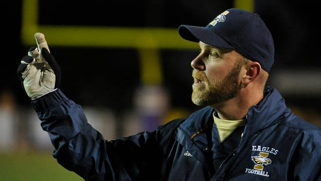 Independence coach Scott Blade guided his Eagles to a 15-0 record and 5A state title.