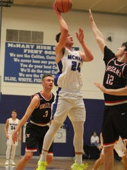 McNary's Ricardo Gardelli goes up for a shot against
