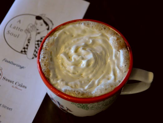 A' Latte Soul offers traditional coffee and espresso