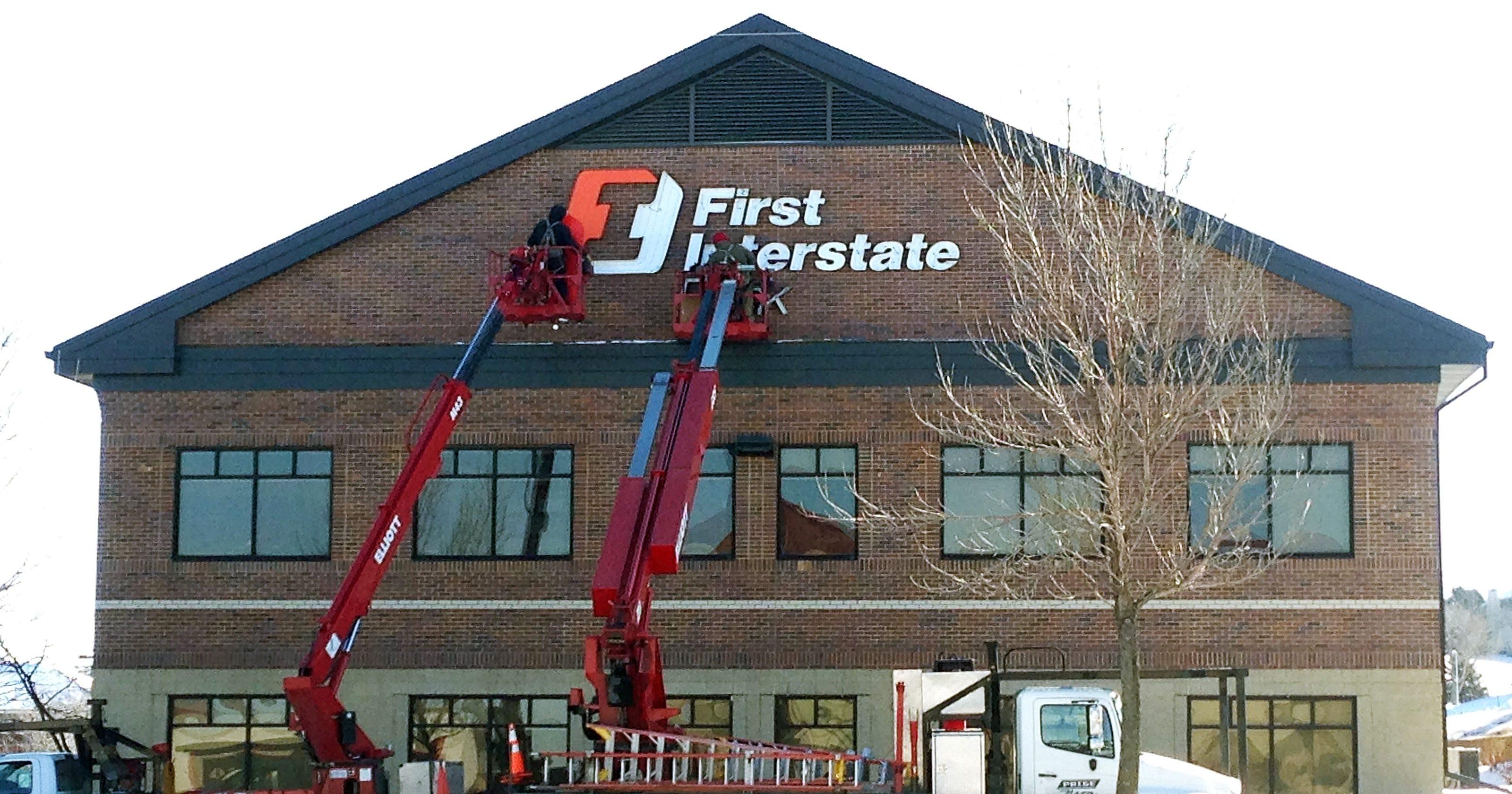 first interstate bank enters market