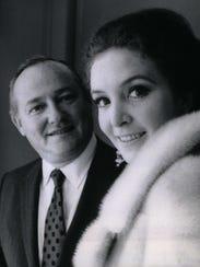 James Nederlander with actress and writer Roni Dengel