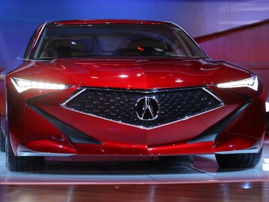 Acura reveals its Precision concept luxury sedan during