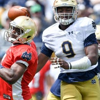 Meet the sophomore who could rejuvenate Notre Dame's pass rush