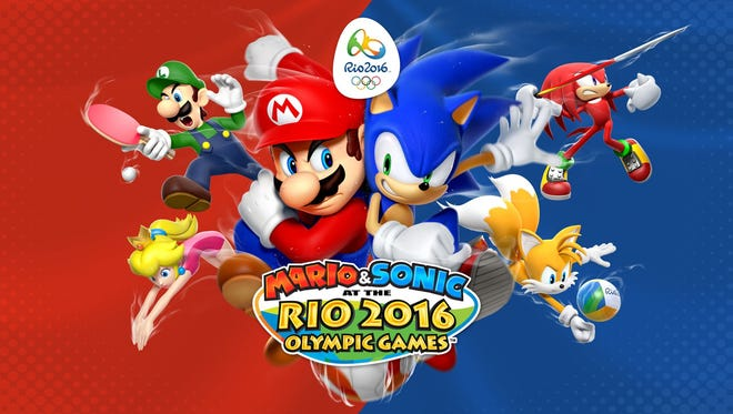 Mario & Sonic at the Rio 2016 Olympic Games.