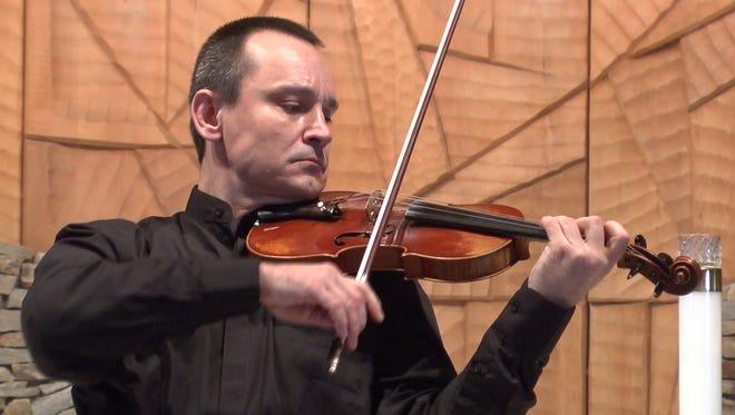 Violinist Alexei Yavtuhovich