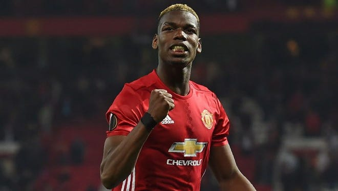 Paul Pogba and Manchester United are under a lot of pressure to prevail in the Europa League final against Ajax.