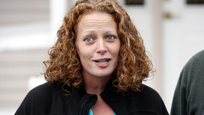 Nurse Kaci Hickox, seen in October 2014, has filed a lawsuit against Gov. Chris Christie and state health officials. Lawyers asked a judge Friday to throw out her lawsuit.