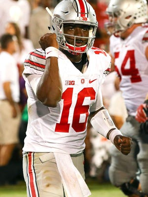 Ohio State quarterback J.T. Barrett has thrown for 2,218 yards, including 23 touchdowns, and ran for 617 yards and eight TDs.