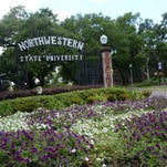 ANI Northwestern State University in NatchitochesFront gate at one of the entrances at NSU in Natchitoches Wednesday June 19, 2013.-Melinda Martinez/mmartinez@thetowntalk.com