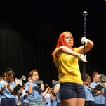Battle Creek Public Schools staff heard speeches and music at Monday's Opening Day ceremony.