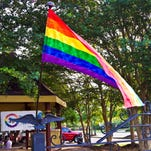 The Spectrum Center hosted a meet and greet at Town Square Park July 24 for members of the LGBT community and its allies.
