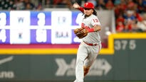 The Padres acquired shortstop Freddy Galvis in a deal with the Philadelphia Phillies,