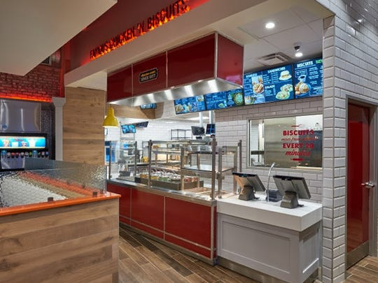 Bojangles' new restaurant concept launched in Charlotte, NC.