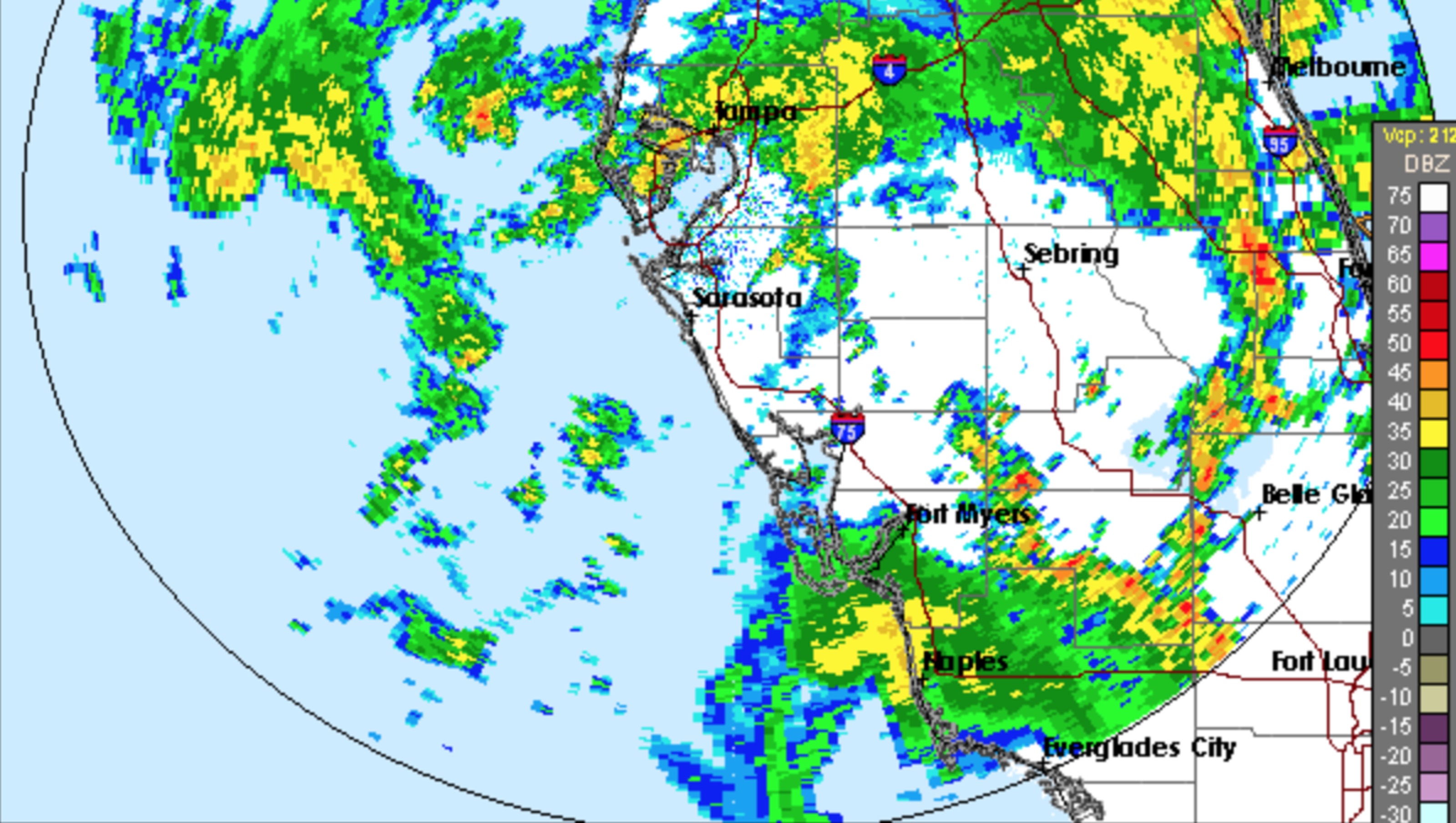 Weather Radar For Fort Myers Cape Coral And Elsewhere In Swfl