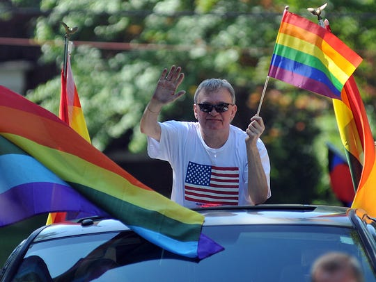 The first Mansfield Gay Pride Festival took place on