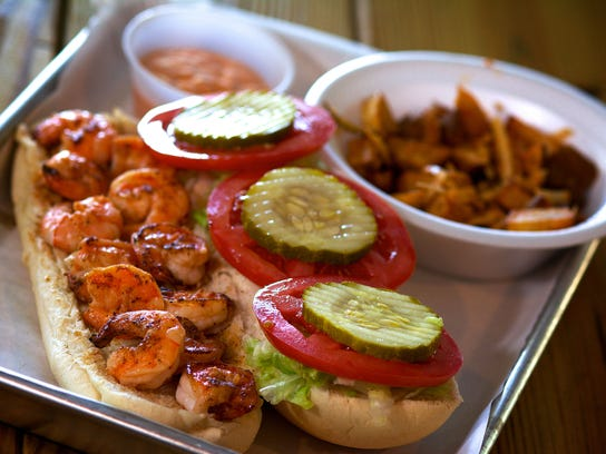 Among the offerings on the menu at Tabone's Po Boys