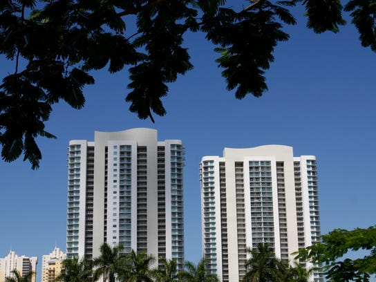 The Oasis high-rises