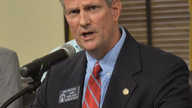 State Senator Ben Watson (R-Savannah) will run unopposed in the Nov. 3 general election after the Democratic challenger withdrew from the race.