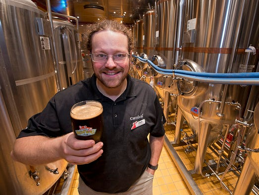 Colin Presby, brewmaster of the RedFrog Pub & Brewery