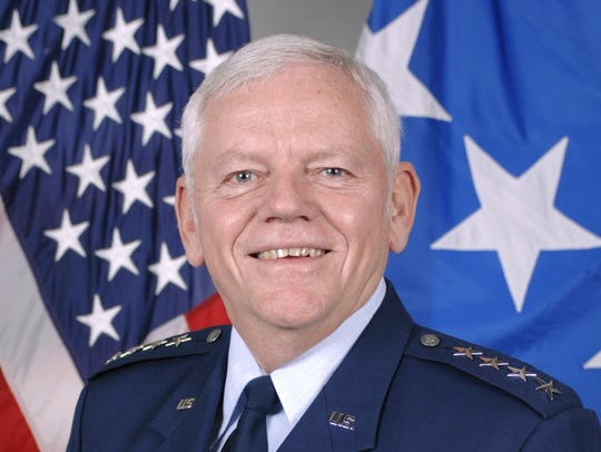 Retired Air Force general Arthur Lichte