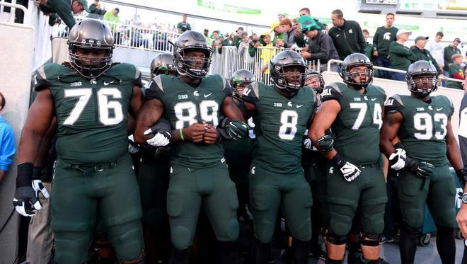 Two AP poll voters had MSU No. 1 after Saturday's win over Oregon.