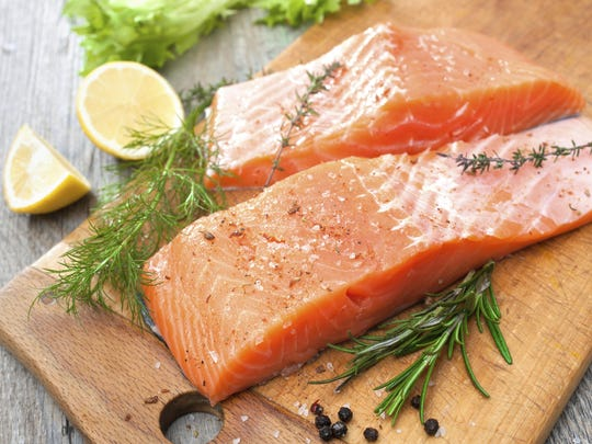 Grill up some salmon tonight to do something nice for your brain.