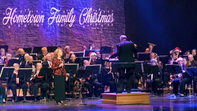 America's Hometown Band will perform their 2016 holiday concert at 5:30 p.m. Saturday, Dec. 17 at Emens Auditorium.