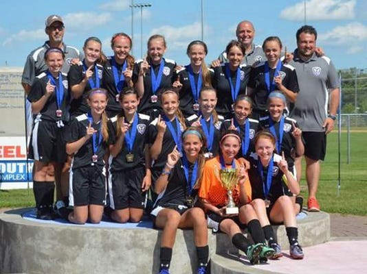 U14 State Cup Soccer Champs