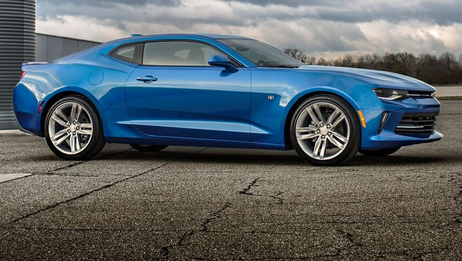 The new 2016 Chevrolet Camaro is smaller and lighter than the one it replaces