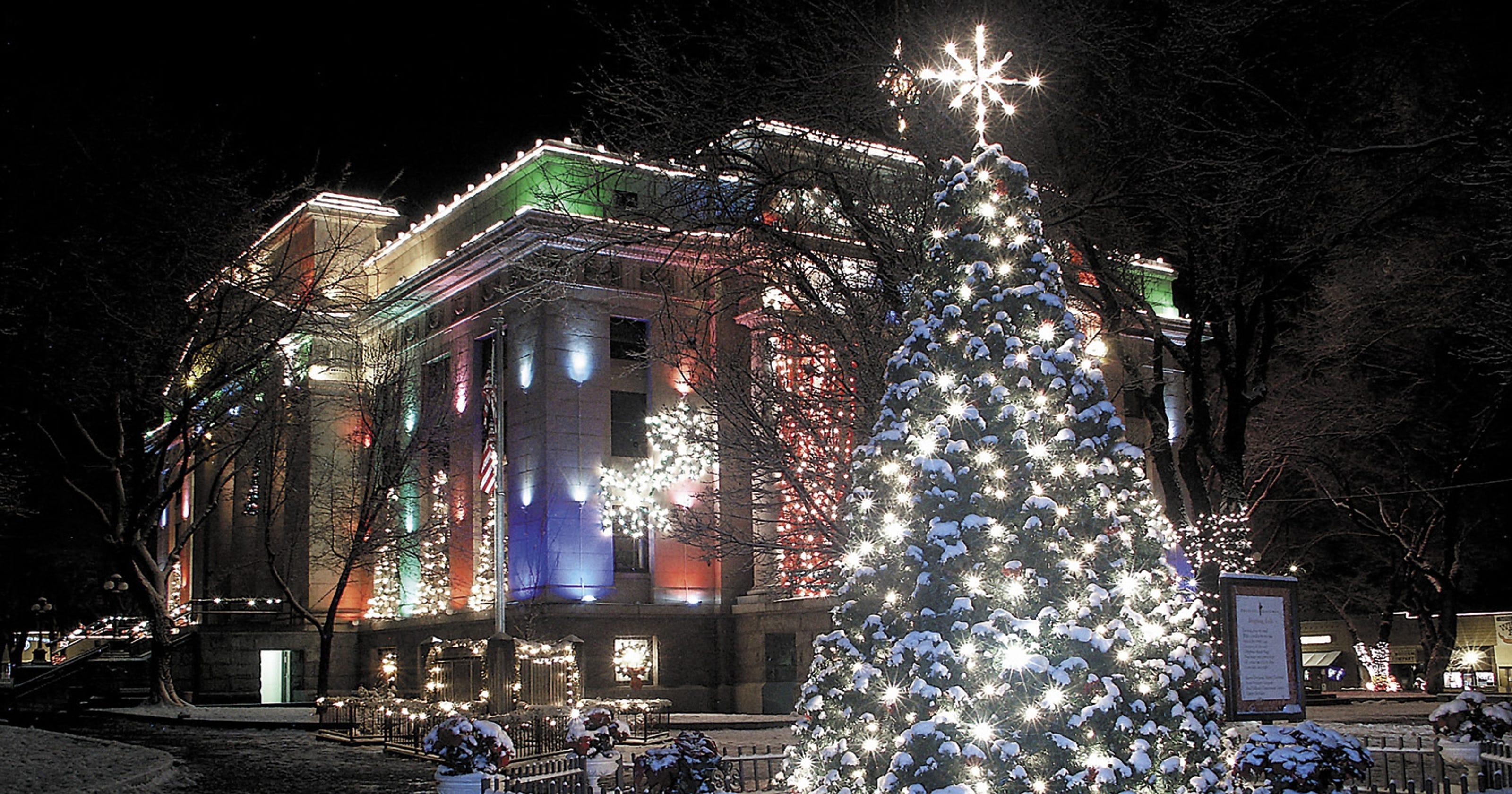 Holiday lights, sights in Prescott